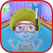 婴孩游泳冠军 - 夏天竞争比赛 1