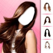 可爱发型图片编辑: 美容院对于时尚姑娘去做头发改头换面 1