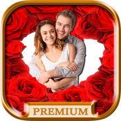 爱帧为图片创建明信片与浪漫的爱情图片-保费 1