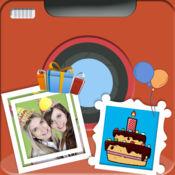 生日快乐相框 - 生日照片编辑 1