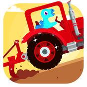 恐龙农场 - 拖拉机总动员,汽车和赛车儿童游戏 1.0.1