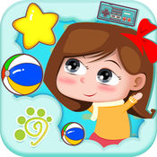 宝宝早教启蒙知识大全-幼儿学习颜色形状游戏