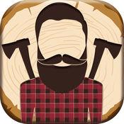 伐木工人 照片贴纸 - 理发店 照片编辑器 1