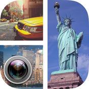 纽约照片拼贴 - 效果和过滤器 1