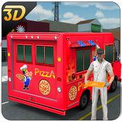 比萨送货车3D - 市食品卡车司机模拟器游戏 1.0.1