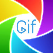 制作 GIF 用贴纸: 创建动画视频从 照片 和 加入酷邮票 1