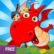 龙儿童:可爱 的画线游戏(免费版) 2