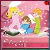 PJ枕头党 - 孩子们的乐趣带睡衣朋友 1