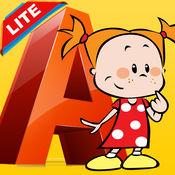 颜色我:ABC着色书页免费趣味为孩子成人前学习技能拉丝漆面