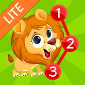 连点动物的儿童和幼儿 - 免费 1.9