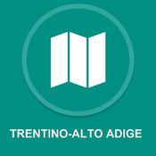 特伦蒂诺 - 上阿迪杰,意大利 : 离线GPS导航 1