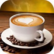 玩咖啡食谱比赛在餐馆和家庭 - 让冷热咖啡饮料使用咖啡豆