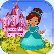 有趣的教 在仙境年轻女 孩的粉红色 幼儿拼图女孩 拼图游戏