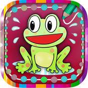 趣味图片益智拼图连线儿童画画游戏  1