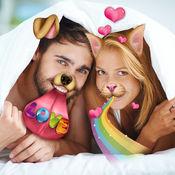 爱照片贴纸: 动物换脸应用 1