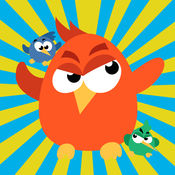 Super Birds Adventures - Birdy Crossing Block 超级鸟冒