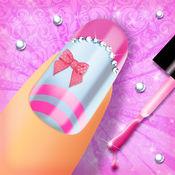 时尚指甲设计 - 女孩游戏: 精彩的美甲沙龙对于现代女孩 1