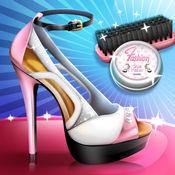 现代鞋女孩的游戏 1