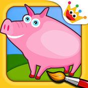 农场: 着色动物拼图 - 游戏的孩子 2.6.5