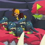 超級爺爺冒險叢林恐龍免費遊戲 1