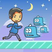 超级汉克跑酷:冰川大冒险 - 儿童游戏免费 1.0.0