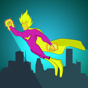 超级英雄极端跳线对决亲 - 最好的天空赛车街机游戏 1.9