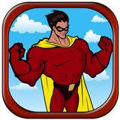 超级英雄挑战赛飞 - 虚拟动作飞行游戏 1