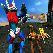 超级英雄机器人战斗VS邪恶蜘蛛机器人技术 1