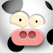 农场跌落 - 元素奶牛生存 1