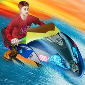 超级喷气滑雪水上运动 - i赛车游戏 1