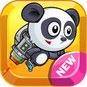 超 熊猫 冒险 跑 和 跳 飞扬 乐趣 游戏 1.0.2