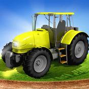 农场 模拟器的西姆真实:拖拉机 游戏 1
