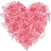 爱情Emojis - iMessage的图片 1