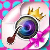 相机编辑滑稽的贴纸: 照片和装饰为您的图片可爱的邮票 1.1