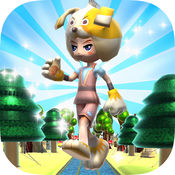 Super Kids Run : 赛跑和赛车游戏 1