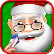 超 圣诞老人 胡子沙龙 -  孩子的圣诞节游戏 1