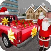 超级圣诞老人礼物交付游戏:开车在圣诞节 1