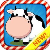 农场动物拼图游戏 游戏为孩子 1