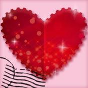情人节贺卡设计师 – 创建浪漫电子贺卡和情信 1