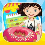 甜甜圈制造商店儿童烹饪游戏 1