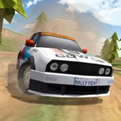 集会交通赛车手3D。 漂泊汽车游戏在沙漠。 真正的车手污垢