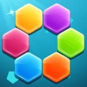 六边形拼图—少儿童经典格子方块消除拼图片 1