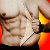 腹肌照片编辑: 健美蒙太奇同贴纸 1