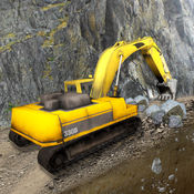 极端的越野工程车司机3D模拟器:传奇挖掘机游戏