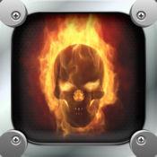 消防头骨壁纸 - 可怕的背景图片的主画面 1