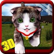 真正的猫模拟器3D - 小可爱的小鹰模拟游戏,以探索和发挥主