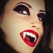 吸血鬼相机照片编辑 - 诡计人同阴沉可怕的嘲弄掩饰 1