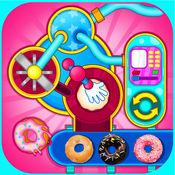 甜甜圈制作工厂