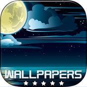 夜空壁纸和繁星点点的高清背景图片  1