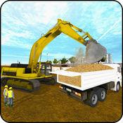 真正的挖掘机城市建设游戏3D 2